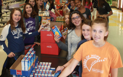 Check out our Awesome Seeds of Hope Volunteers at Randall Middle School