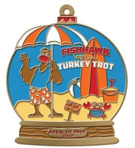 2020 Turkey Trot Medal or Ornament